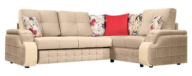 Николь угловой диван + кресло д/отдыха