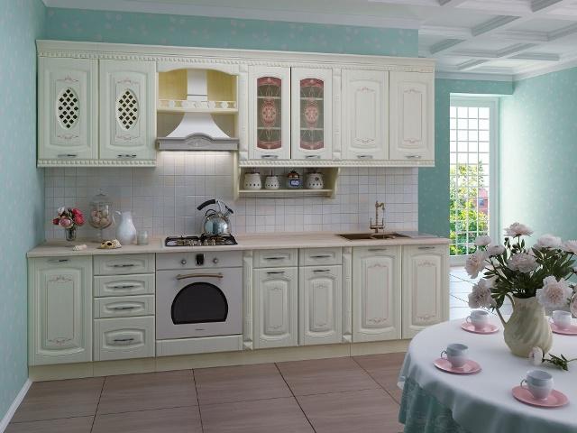 Глория_3 3,0 м, кухонный гарнитур